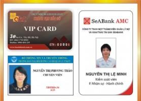 In thẻ nhân viên - in thẻ chấm công