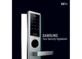 Khóa cửa điện tử SAMSUNG SHS-6020XMS/EN